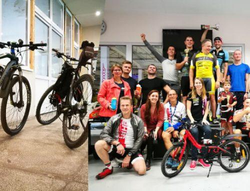 Kaune buvo surengtos pirmos dviračių lenktynės kartodromo trasoje