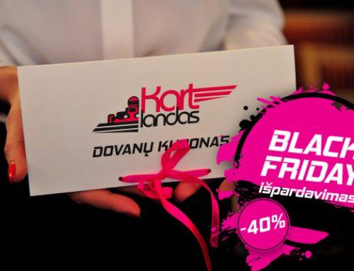 Didydis Black Friday išpardavimas. TIK lapkričio 23 d.