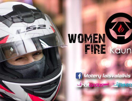 Women on Fire – Moterų Vakaras Kartlande, Kaune