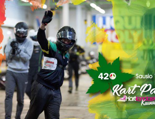 """420""""Kart Party. Varžybos kiekvienam mėgėjui"""
