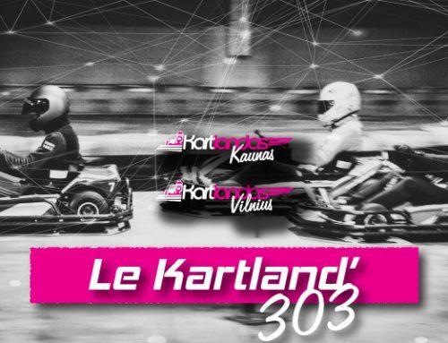 Le Kartland'303 lenktynės. REGISTRUOKIS į 3 etapą