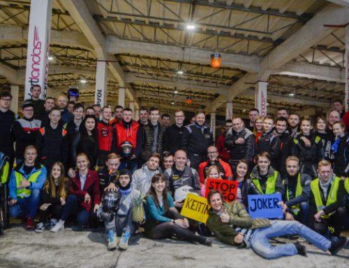Šeštadienio naktį paaiškėjo naktinių kartingo lenktynių – Le Kartland'303 nugalėtojai