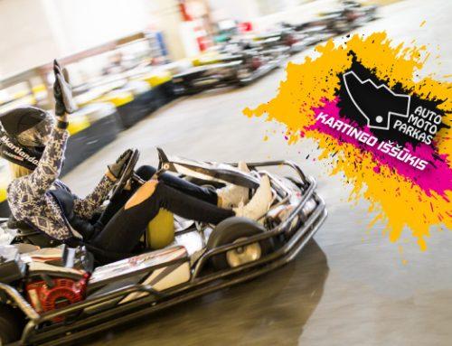 Laimėk BMW Rally! Dalyvauk Auto Moto parko iššūkyje