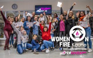 Women-on-fire-pramogos moterims - Kartlandas