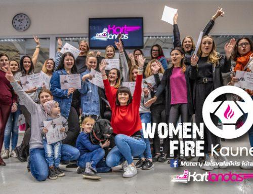 Women on Fire #3 Kaune. Kitoks moterų vakaras