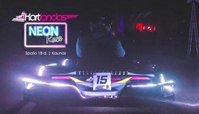 Neon-race-Kartlandas