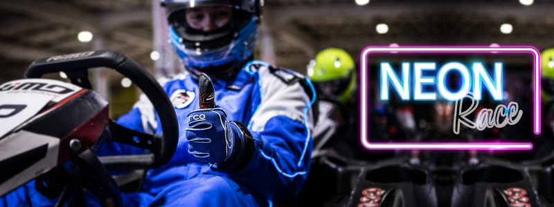 Neon-race-varžybos Kartlandas