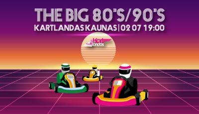 Kartingo varžybos_the big80s/90 Kartlandas