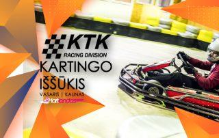 KTK-racing divisio kartingo issukis. Kartlandas