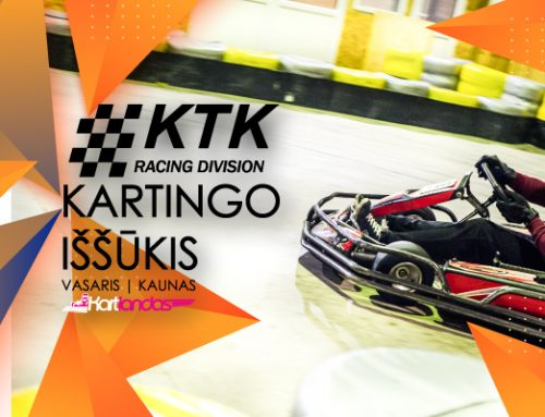 """Laimėk treniruotę simuliatoriuje ir """"Nemuno žiedo"""" trasoje su """"KTK Racing division"""""""
