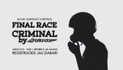Final Race Criminal_KARTLANDAS